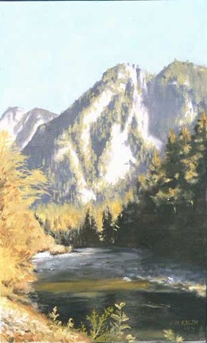 North Bend--21x34 1992